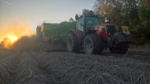 Foto van een Massey Ferguson 6495 Dyna-6. Geplaatst door nielsve op 31-10-2018 om 14:36:44, op TractorFan.nl - de nummer 1 tractor foto website.