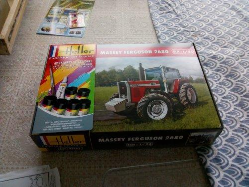 Massey Ferguson 2680 van MF 2725
