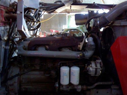 Massey Ferguson 2680, turbo eraf voor revisie. Foto 2. Geplaatst door MF 2725 op 28-01-2019 om 23:12:41, met 17 reacties.