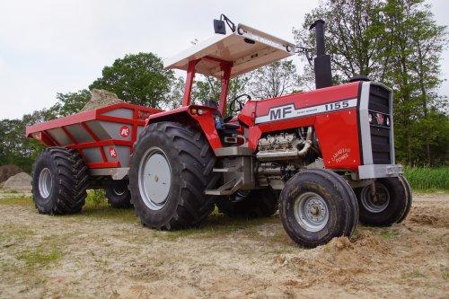 Foto van een Massey Ferguson 1155. Geplaatst door jans-eising op 30-05-2019 om 19:51:33, op TractorFan.nl - de nummer 1 tractor foto website.