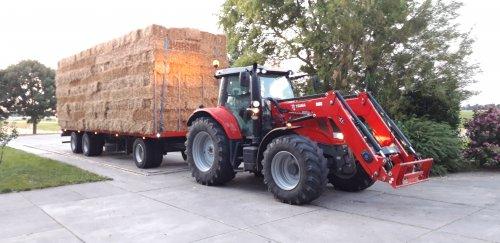 Foto van een Massey Ferguson 7615. Geplaatst door Wilco vd Kuilen op 04-08-2019 om 17:21:07, op TractorFan.nl - de nummer 1 tractor foto website.