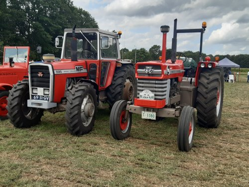 MF 595 en 1080 beiden met