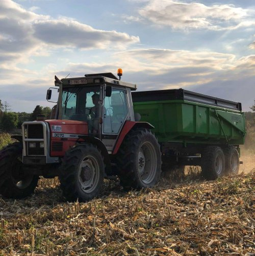 Foto van een Massey Ferguson 3070. Geplaatst door Sander verlinden  op 03-10-2019 om 12:31:56, op TractorFan.nl - de nummer 1 tractor foto website.