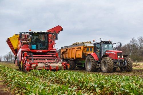 Massey Ferguson 6465 Dyna-6 van AgricultureVideoNL