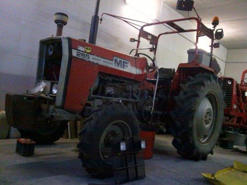 Massey Ferguson 285 van marco steyr