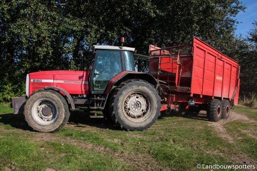 Massey Ferguson 8160 van tractorfreek
