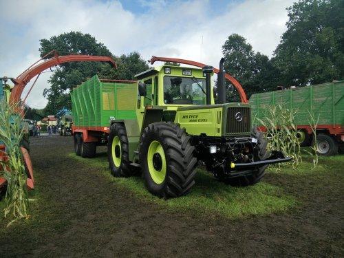 Foto van een MB Trac 1600, op de feldtag in Nordhorn 2017. Geplaatst door Sanderrr op 26-08-2017 om 00:46:15, op TractorFan.nl - de nummer 1 tractor foto website.