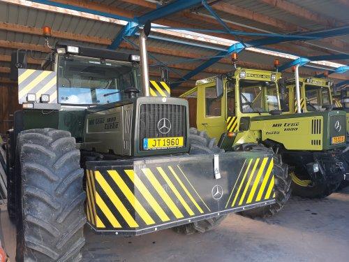 MB Trac 1800 van fordandre
