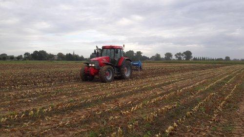 Foto van een Mc-Cormick MTX 140 Bezig met poseren.. Geplaatst door Jorrick 1455XL op 19-12-2016 om 12:49:13, op TractorFan.nl - de nummer 1 tractor foto website.