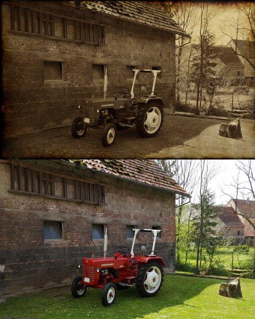 Foto van een McCormick D-326, Foto hierboven bewerkt met Photoshop. Geplaatst door otto-normalverbraucher op 22-02-2017 om 17:46:21, op TractorFan.nl - de nummer 1 tractor foto website.