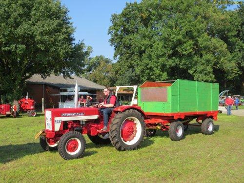 Foto van een Mc-Cormick 353  , Wilsum dld 24-07-2017. Geplaatst door oldtimergek op 27-09-2017 om 20:44:00, op TractorFan.nl - de nummer 1 tractor foto website.