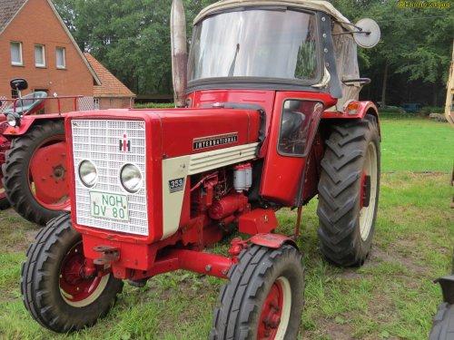 Foto van een Mc-Cormick 353   , oldtimerdag Itterbeck 2018. Geplaatst door oldtimergek op 21-01-2019 om 11:38:42, op TractorFan.nl - de nummer 1 tractor foto website.