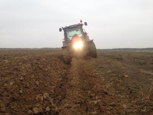 Mc-Cormick C75 Max+ vogel noot LM920. Geplaatst door matei-sorin op 04-01-2015 om 20:10:43, op TractorFan.nl - de nummer 1 tractor foto website.