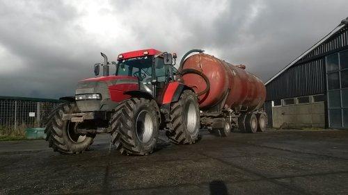 Foto van een Mc-Cormick MTX 150. Geplaatst door Roy-brune op 23-02-2016 om 09:36:10, op TractorFan.nl - de nummer 1 tractor foto website.