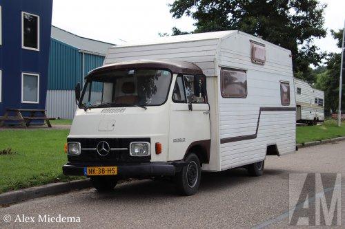 Mercedes-Benz L206D van Alex Miedema