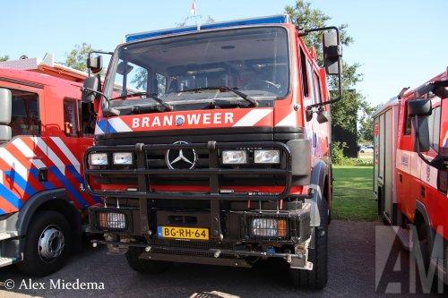Foto van een Mercedes-Benz SK 94, opgebouwd als brandweer.  Iveco Eurocargo.. Geplaatst door Alex Miedema op 11-09-2019 om 18:02:37, op TractorFan.nl - de nummer 1 tractor foto website.