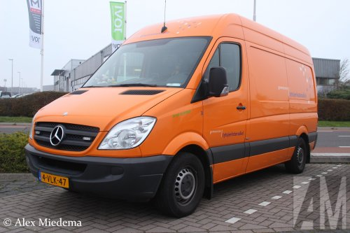 Mercedes-Benz Sprinter van Alex Miedema