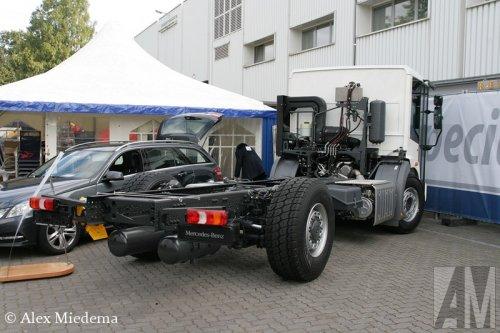 Foto van een Mercedes-Benz Econic, opgebouwd  zonder opbouw.. Geplaatst door Alex Miedema op 27-09-2014 om 13:57:14, met 3 reacties.