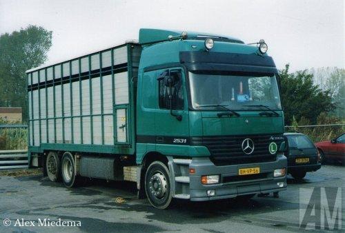 Mercedes-Benz Actros MP1 van Alex Miedema