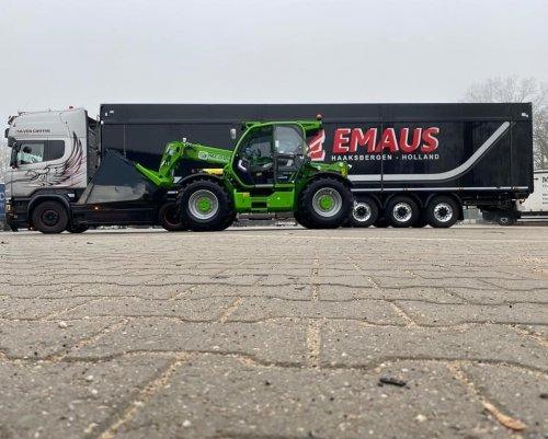 Afgelopen woensdag heeft Emaus Mesthandel & Transport de nieuwe 170 pk sterke TF50.8T-170 CVTronic in gebruik genomen.