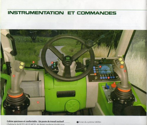 Merlo interieur international tractor picture 327068 for Meerlo interieur