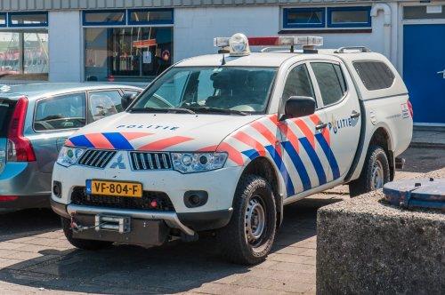 Foto van een Mitsubishi L200 van Politie (Den Haag) ×, opgebouwd voor personenvervoer.. Geplaatst door xrayjaco op 12-05-2019 om 13:07:41, op TractorFan.nl - de nummer 1 tractor foto website.