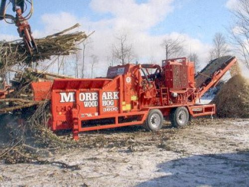 Morbark Woodhog 3600 van kope