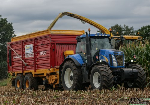 New Holland T 8040 van jurgenkrijt