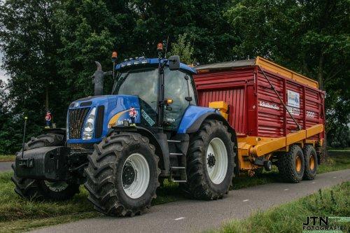 New Holland T 8040 van jurgenkrijt