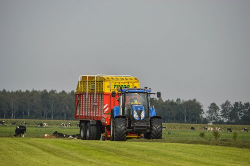 New Holland T 6070 van fendt 410