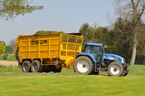 New Holland TVT 170 van Mick Jaguar