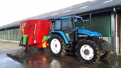 New Holland TS 90 van Alwin Groothuis