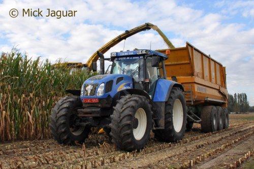 New Holland TVT 170 van Mick Jaguar