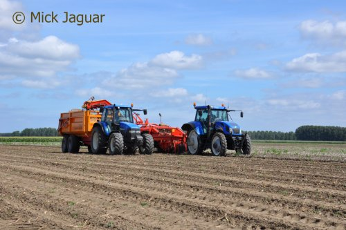 New Holland TVT 155 van Mick Jaguar