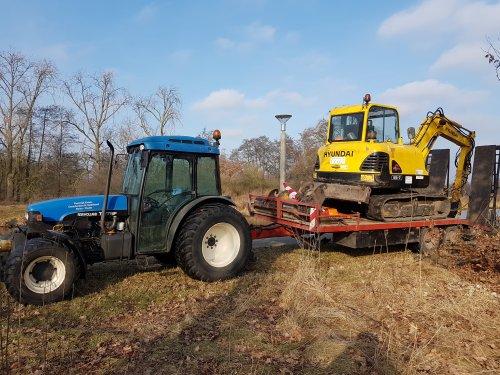 Foto van een New Holland TN 75 F. Geplaatst door jorn wijthmen op 05-02-2017 om 16:07:32, op TractorFan.nl - de nummer 1 tractor foto website.