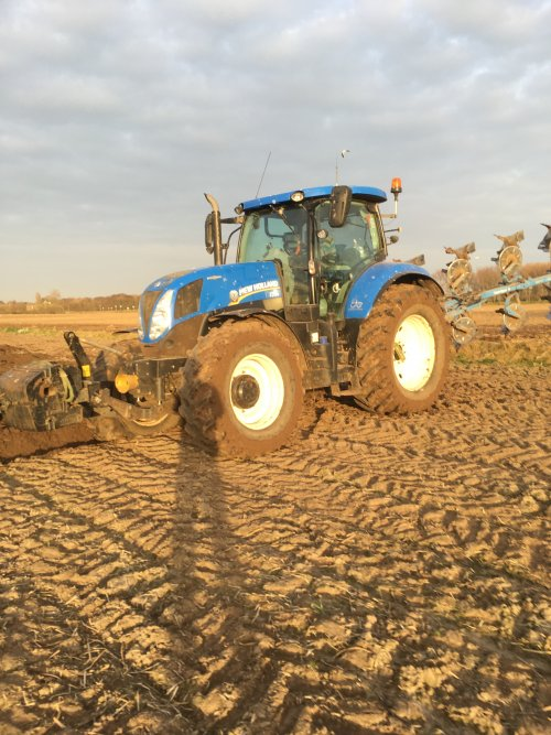 New Holland T 7000 van dani-hoekstra