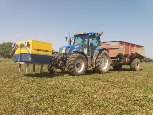 New Holland TS 135 A van marco steyr