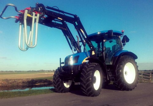 New Holland TS 100 A van powerjd