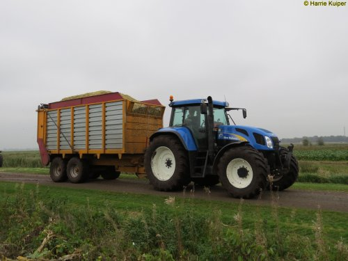 New Holland TVT 155 van oldtimergek