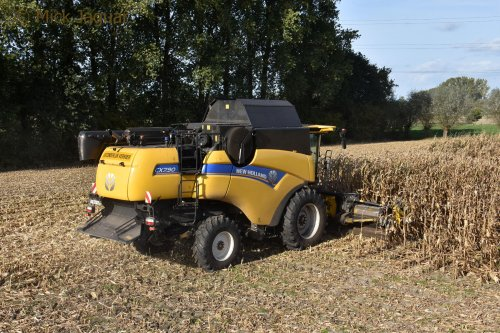 New Holland CX van Mick Jaguar