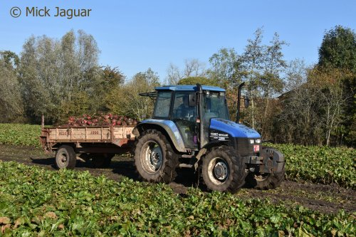 New Holland TS 90 van Mick Jaguar