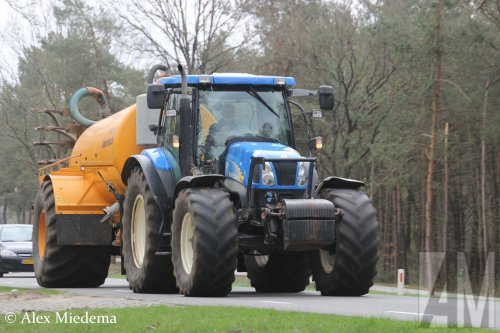 New Holland TS 135 A van Alex Miedema