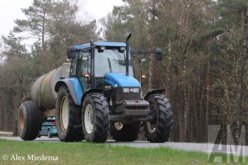 New Holland TS 90 van Alex Miedema