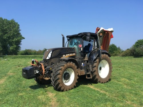 New Holland T 7.190 van seppe sools