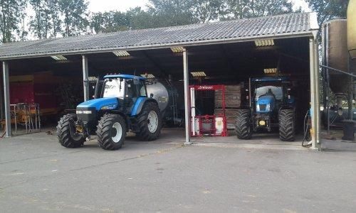 Foto van een New Holland Meerdere. Geplaatst door dobbe op 15-07-2018 om 10:03:28, op TractorFan.nl - de nummer 1 tractor foto website.