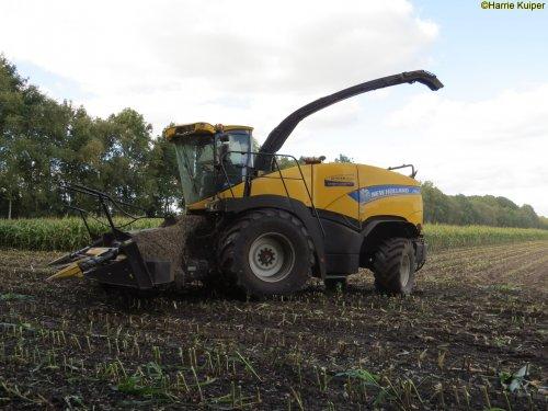 Kijk, daar heb je Loonbedrijf Zinger Beilen (Beilen) × met een New Holland FR 500.. Geplaatst door oldtimergek op 12-10-2018 om 00:13:50, op TractorFan.nl - de nummer 1 tractor foto website.