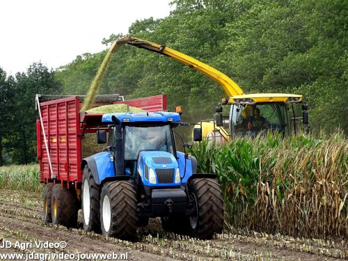 New Holland T 7530 van JohanNunspeetElspeet