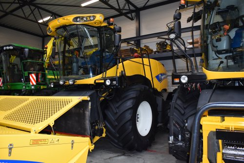 New Holland Hakselaar van jordi 1455