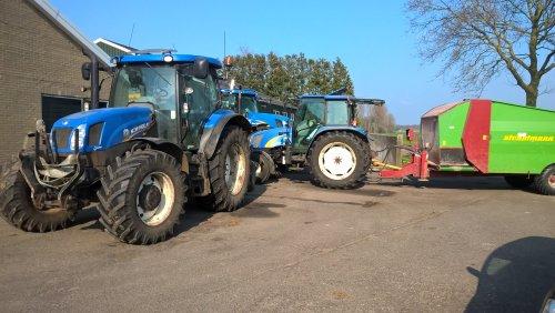 Alles bij elkaar👌 New holland T6.155, TL80a en een new holland T7040. Geplaatst door fan van trekkers op 11-02-2019 om 17:33:57, op TractorFan.nl - de nummer 1 tractor foto website.