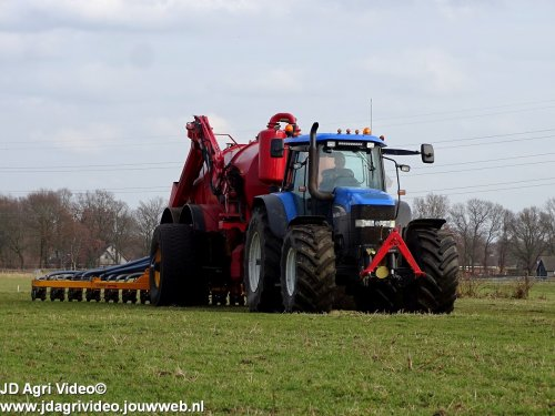 New Holland TM 175 van JohanNunspeetElspeet